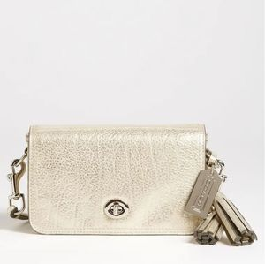 Coach Legacy Penny Metallic Crossbody Bag